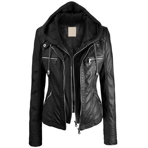 Women Leather Blazer 1