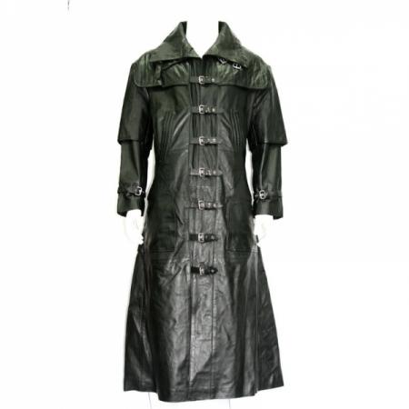 Men Fashion Long Coat 1