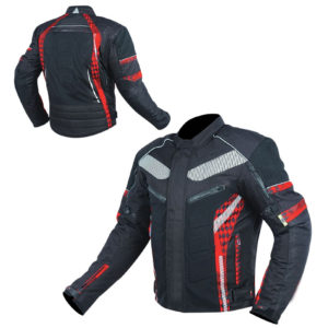 Textile Short Men Jackets